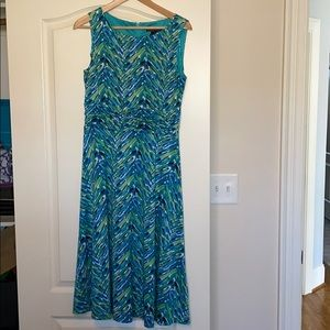 Women's Size 10 Teal Stretchy Dress